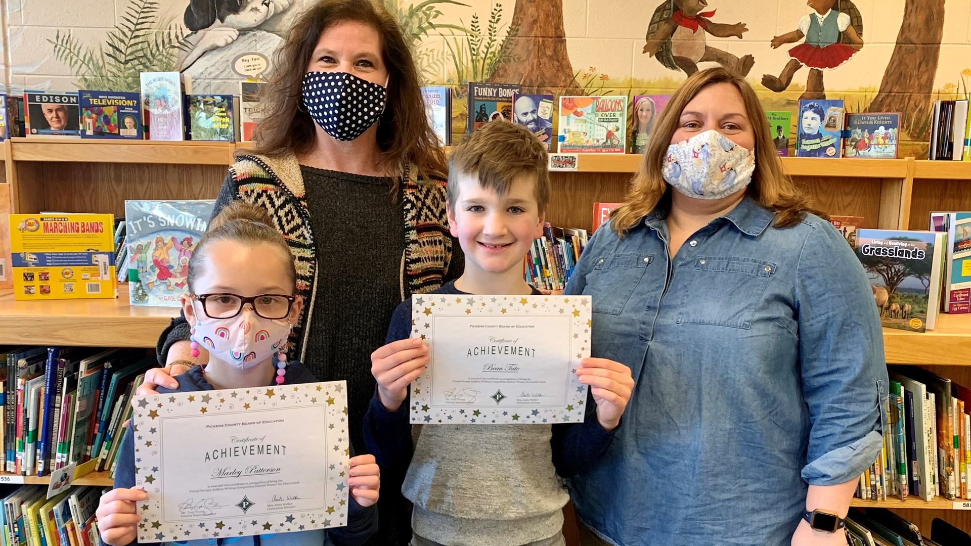 Young Author's Competition Winners